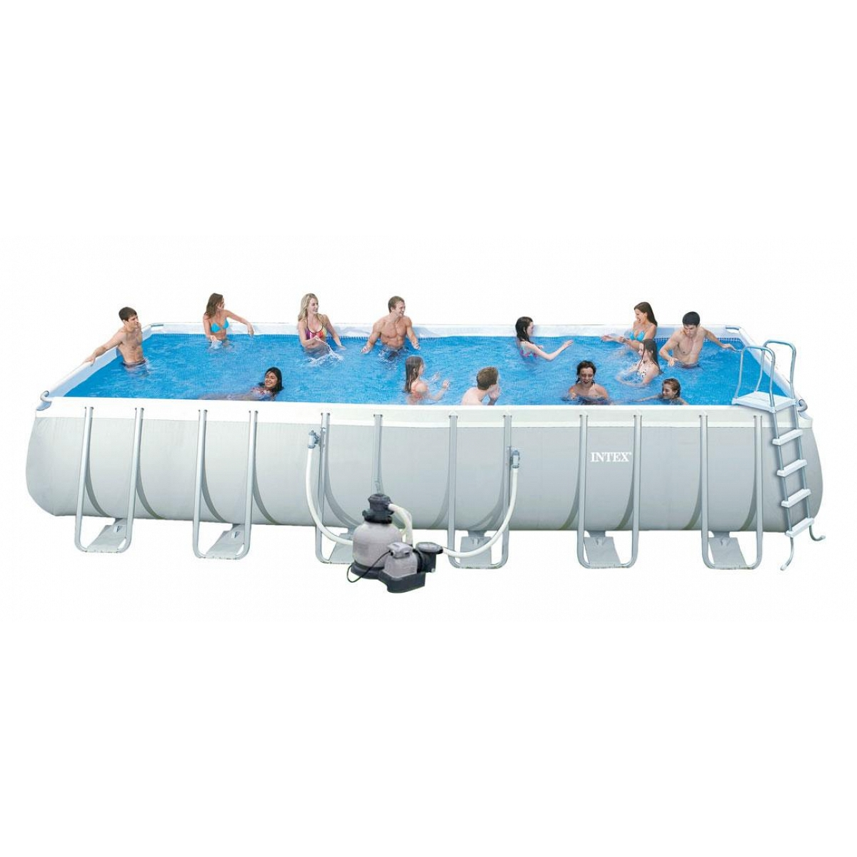 Rectangular Pool Intex 975x488x132 Mod Ultra Frame With