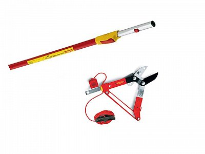 Wolf Garten Scissor cutter RC-M with Wolf -garten telescopic rod