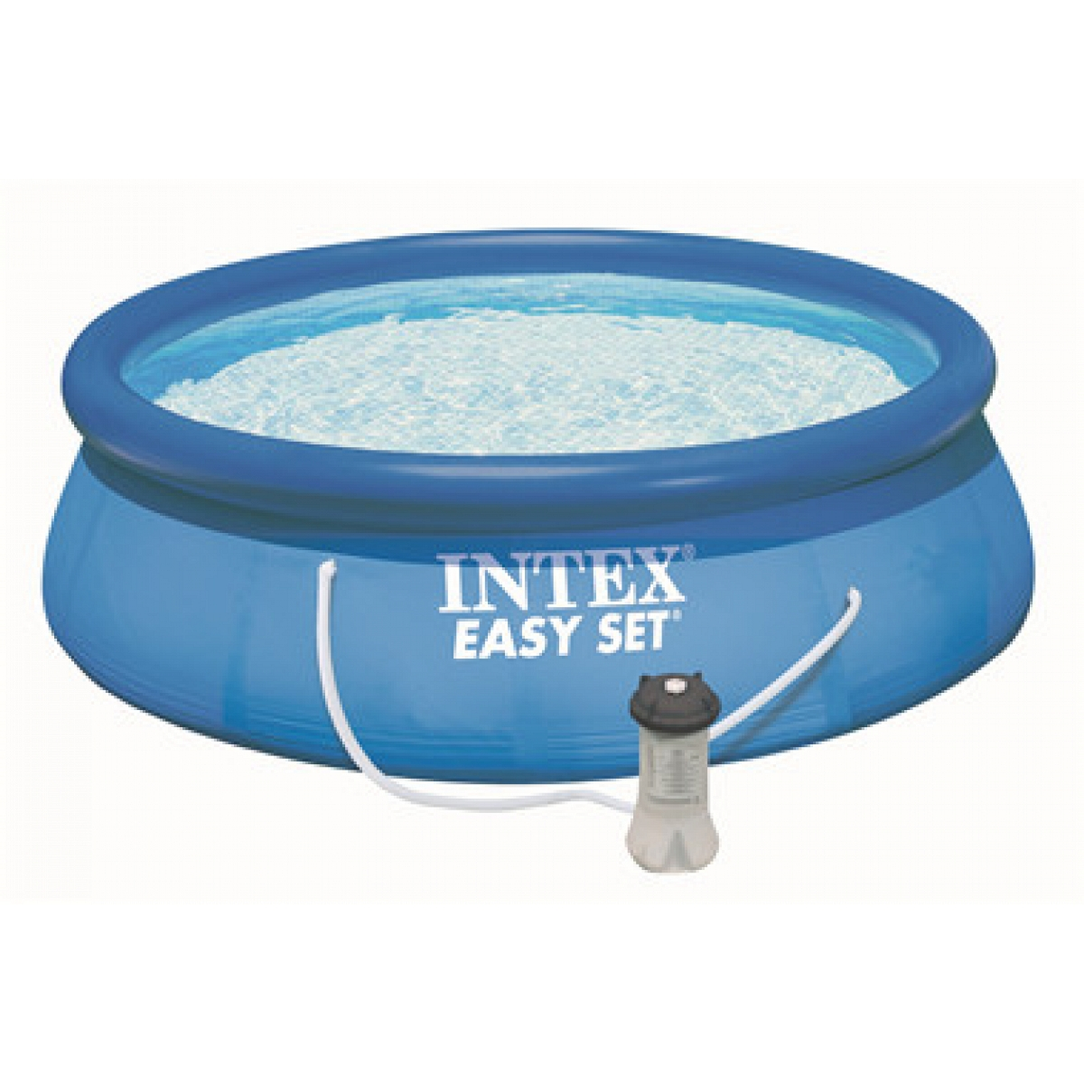Gartenpool rund intex mod easy set 305x76 intex piscine for Gartenpool rechteckig