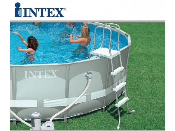 round pool intex 549x132 mod ultra frame with accessories. Black Bedroom Furniture Sets. Home Design Ideas