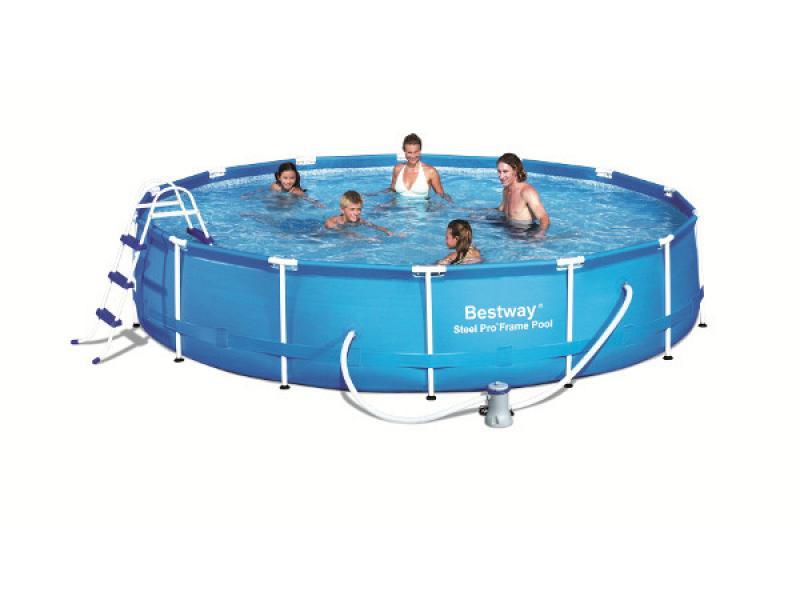 Round Pool Bestway 457x91 Mod Steel Pro Bestway Above