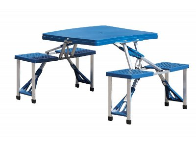 Vette Picnic table and chairs portable folding with case Vette