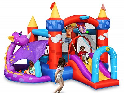 Happy Air Inflatable castles Happy Air mod. Draghetto