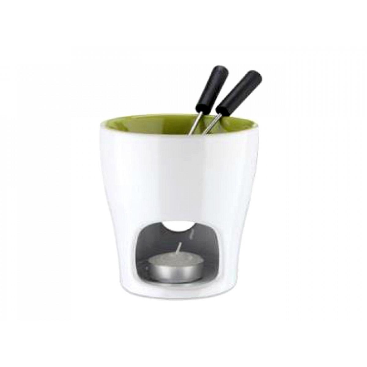 5 teiliges schoko fondue eva collection innen gr n eva. Black Bedroom Furniture Sets. Home Design Ideas