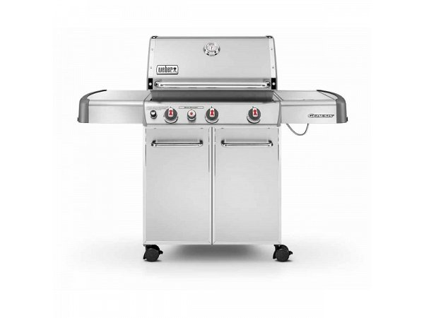 Gas Bbq Weber Genesis S 330 Gbs Inox With Barbecue Apron
