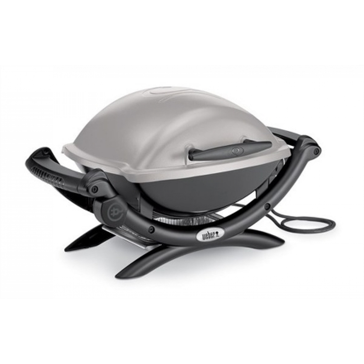 electric barbecue weber q1400 with apron to grill weber. Black Bedroom Furniture Sets. Home Design Ideas