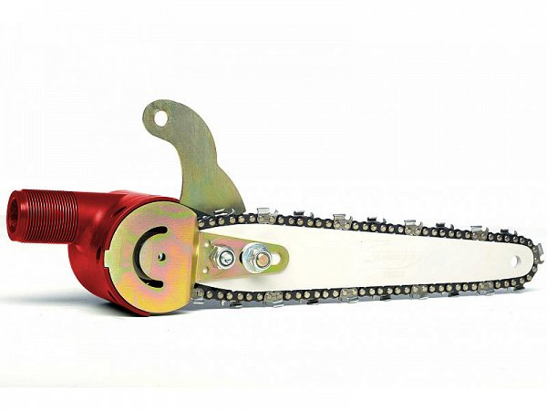 Sbaraglia Pneumatic saw chain with blade Carving