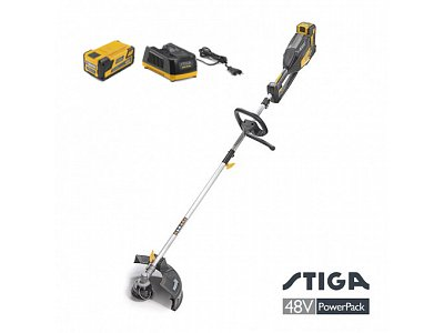 STIGA Stiga SBC 48 AE battery-powered brushcutter with 48 V battery and charge