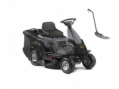 Alpina Alpina BT 66 Q riding mower with side discharge and mulching kit