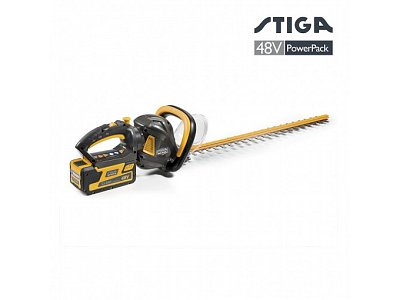 STIGA Cordless hedge trimmer SHT 48 AE Stiga hedge trimmer without 48V 5 Ah battery and charge