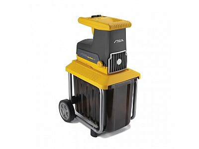 STIGA Stiga BIO SILENT 2500 electric shredder with motor equipped with 8-tooth roller.