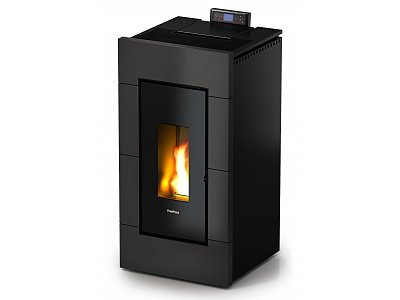 CADEL FreePoint by Cadel duct pellet stove model TREND of 10.5 kW
