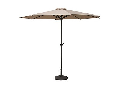 Vette Round shade umbrella with crank handle mt 3