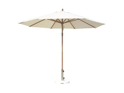 Vette Round wooden umbrella