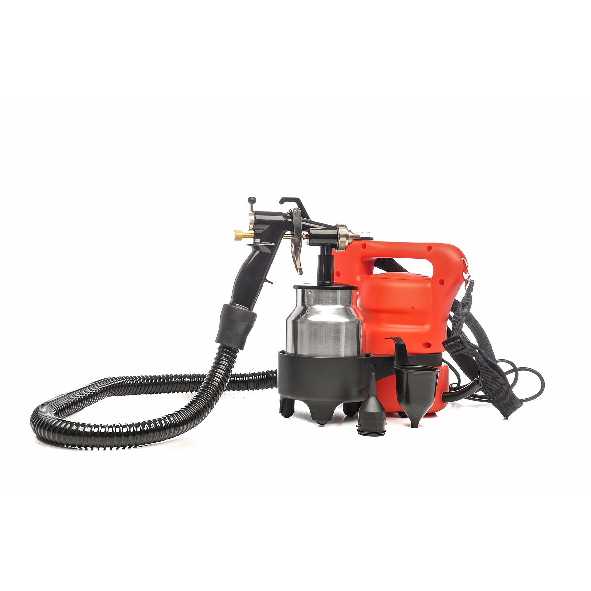 Air compressor spray gun with airbrush 450 w excel excel for Air compressor for pool closing