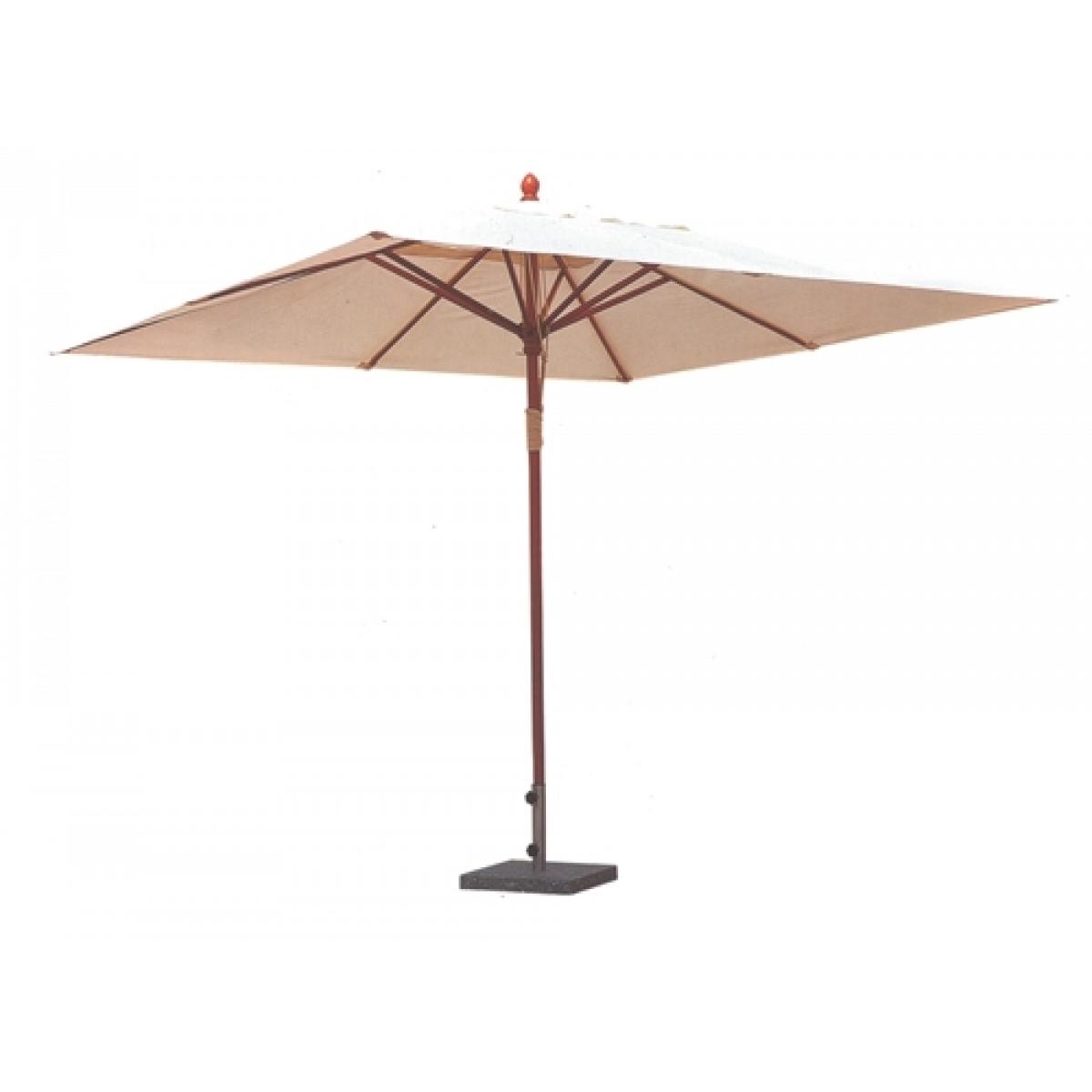 Patio Umbrella 3 X 3 Mod Helios Beige Verdegarden Wooden
