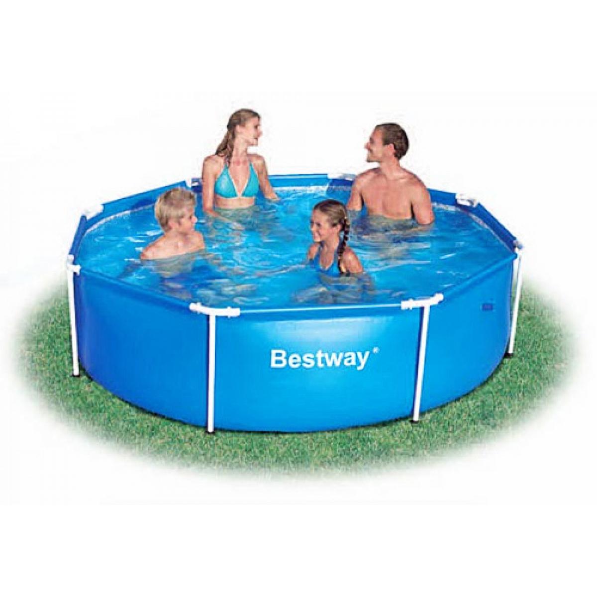 Round Pool Bestway 244x61 Mod Steel Pro Bestway Above
