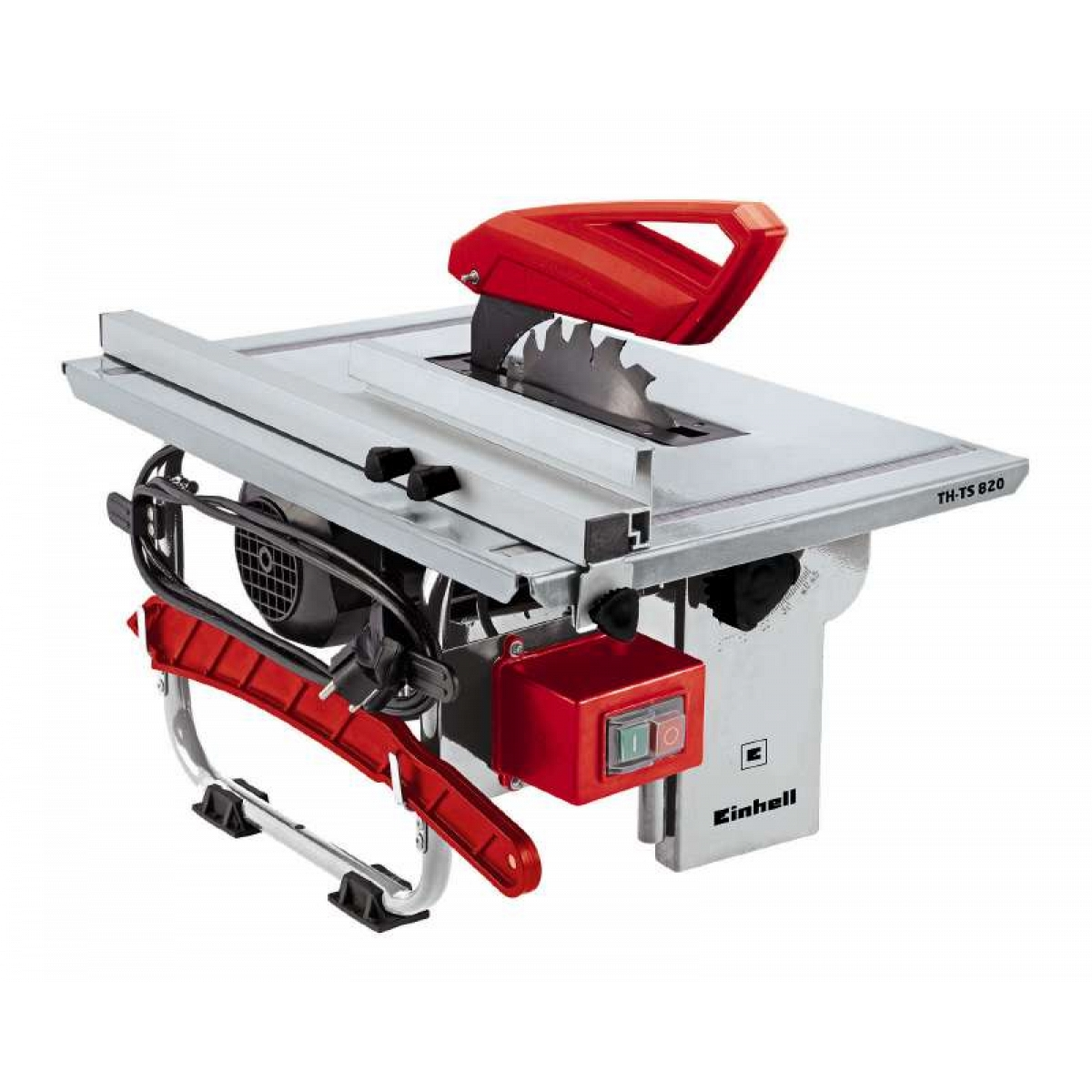 table saw with circular blade 800 w einhell tc ts 820. Black Bedroom Furniture Sets. Home Design Ideas