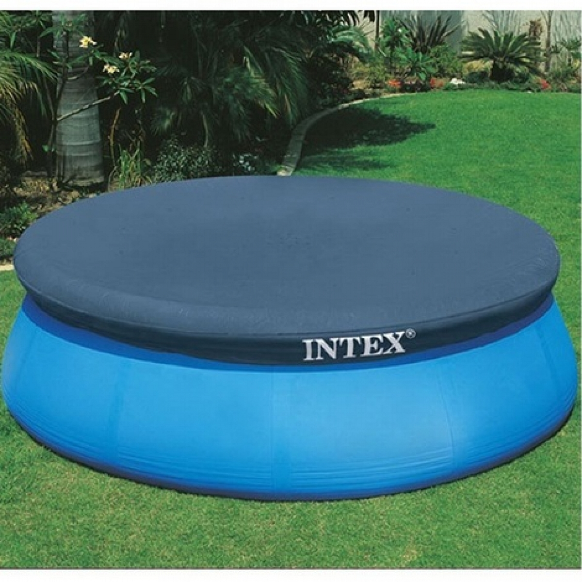 copripiscina intex easy set f r rundbecken. Black Bedroom Furniture Sets. Home Design Ideas