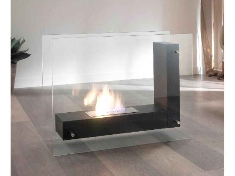 Bio Ethanol Fireplace Stones Mod Crossing Double Bedded