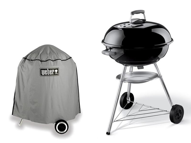 kit coal weber barbecue with free standard case. Black Bedroom Furniture Sets. Home Design Ideas