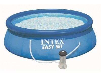 Oberirdische pools runde zum verkauf auf verdegarden for Intex gartenpool