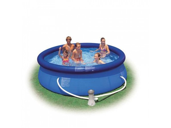 Round pool intex 305x76 mod easy set intex piscine above for Piscine easy set