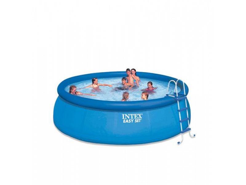 Round pool intex 457x91 mod easy set intex piscine above for 7in1 set garten pool 457 x 91 cm
