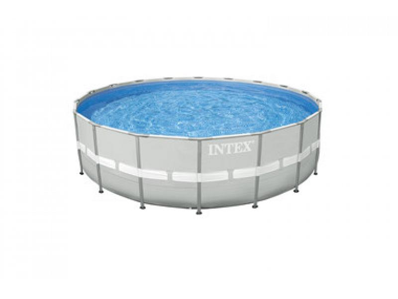 Round Pool Intex 549x132 Mod Ultra Frame With Supporting