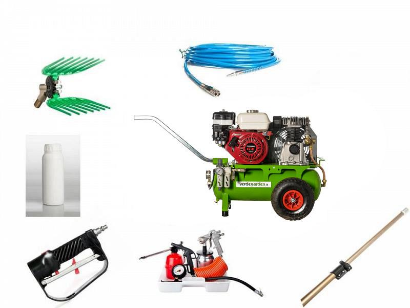 1 operator kit with compressor alfa verdegarden - Does olive garden deliver to your house ...