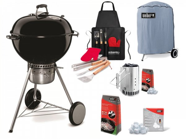 charcoal weber master touch gbs 57 complete kit. Black Bedroom Furniture Sets. Home Design Ideas