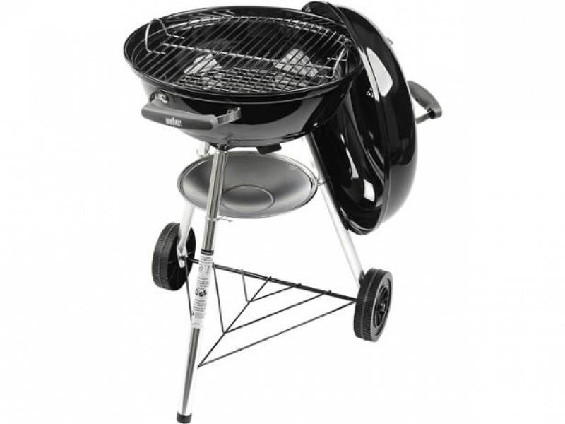 holzkohle grill weber compact kettle 47 cm. Black Bedroom Furniture Sets. Home Design Ideas