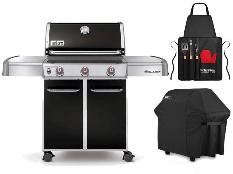 Gas barbecue weber with 3 burners - Weber genesis e310 ...
