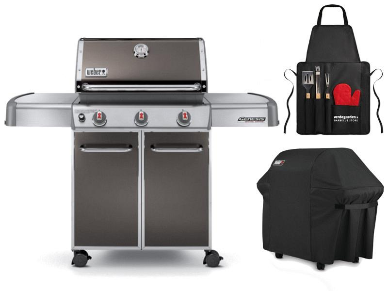 weber genesis e 310 natural gas grill weber genesis ii e310 3burner propane gas grill in black. Black Bedroom Furniture Sets. Home Design Ideas