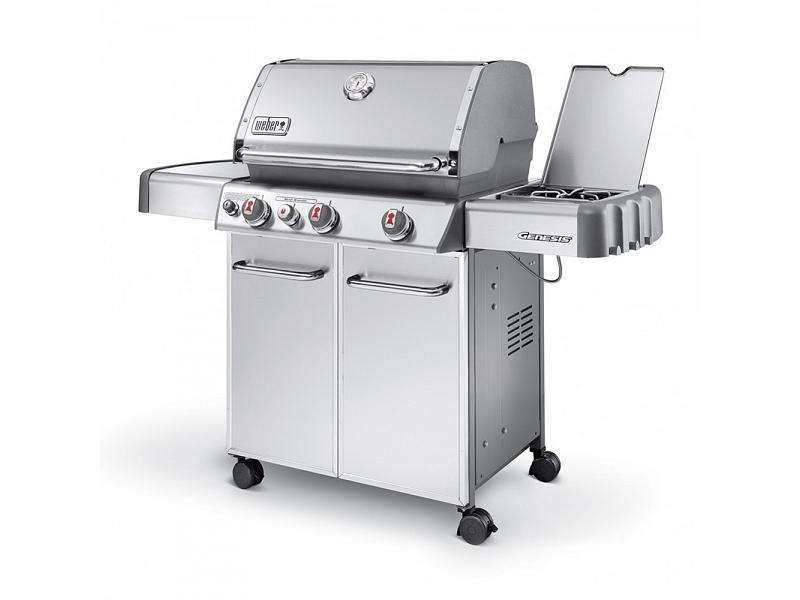 gas barbecue weber genesis s 330 gbs with lateral grill. Black Bedroom Furniture Sets. Home Design Ideas