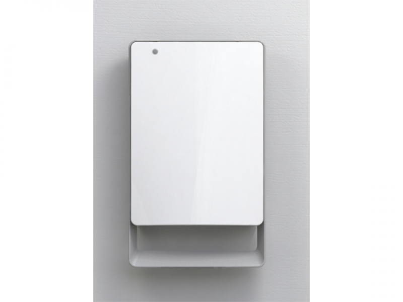 Fan heater bathroom with timer radialight mod folio for Small bathroom heater