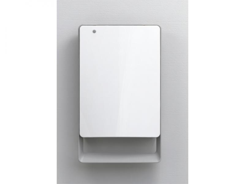 Wand-heizlüfter für badezimmer mit timer radialight mod.