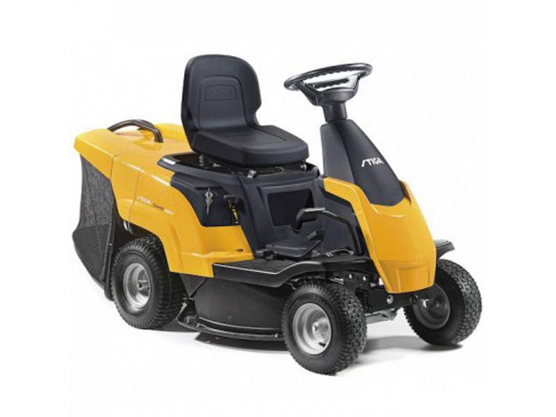 stiga tractor with 196 cc engine. Black Bedroom Furniture Sets. Home Design Ideas